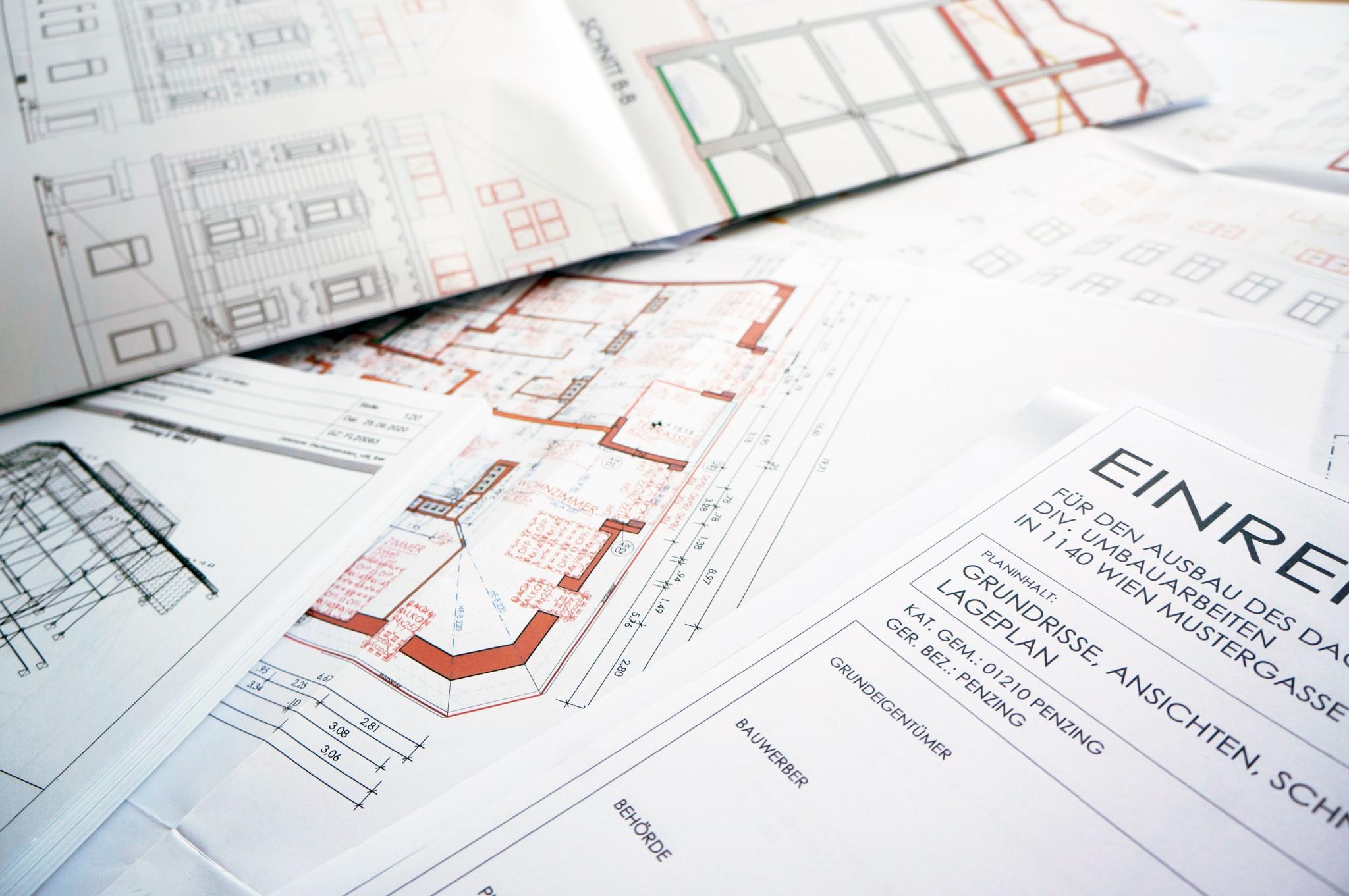 Ohne Einreichplan keine Baugenehmigung